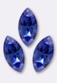 10x5mm Swarovski Crystal Xillion Navette Fancy Stone 4228 Sapphire F x1