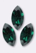 10x5mm Swarovski Crystal Xillion Navette Fancy Stone 4228 Emerald F x1