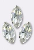 10x5mm Swarovski Crystal Xillion Navette Fancy Stone 4228 Crystal F x1