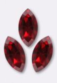 10x5mm Swarovski Crystal Xillion Navette Fancy Stone 4228 Light Siam F x1