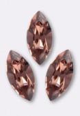 15x7mm Swarovski Crystal Xillion Navette Fancy Stone 4228 Blush Rose x1