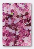 4mm Swarovski Crystal Bicone Beads 5328 Rose Petals Mix x50
