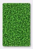 Miyuki Round Seed Beads 15/0 Jade Green Opaque x10g
