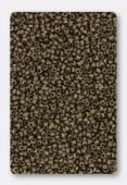 Miyuki Round Seed Beads 15/0 Matted Metallic Dark Bronze x10g