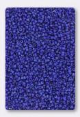 Miyuki Round Seed Beads 15/0 Opaque Cobalt Luster x10g