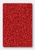 Miyuki Round Seed Beads 15/0 Opaque Dark Red x10g