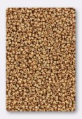 Miyuki Round Seed Beads 15/0 Galvanized Gold x10g