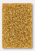 Miyuki Round Seed Beads 15/0 Gold Silver lLined x10g