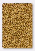 Miyuki Round Seed Beads 15/0 24 kt Gold Plated x5g