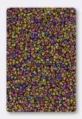 Miyuki Round Seed Beads 15/0 Metallic Purple Gold Iris x10g