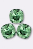 12mm Swarovski Crystal Cushion Cut Fancy Square Stone 4470 Erinite F x1