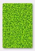 Miyuki 15/0 Round Seed Beads Duracoat Opaque Kiwi x10g