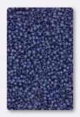 Delica Miyuki 11/0 DB0377 Metallic Dark Grey-Blue Matted x10g