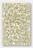 Miyuki Square Beads 1.8 mm SB0421 Ceam Ceylon x10g