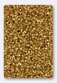 Miyuki Delica Hexcut 11/0 DBC0031 24 Kt Gold Plated x5g