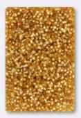 Miyuki Delica Hexcut 11/0 DBC0042 Silver Lined Gold x10g