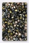 4mm Swarovski Crystal Bicone Beads 5328 ( Mix ) Nuits Chic x50