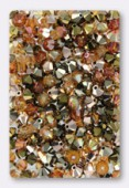 4mm Swarovski Crystal Bicone Beads 5328 ( Mix ) Nuits d'Or x50