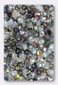 4mm Swarovski Crystal Bicone Beads 5328 ( Mix ) Pierres d'étoiles x50