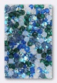 4mm Swarovski Crystal Bicone Beads 5328 ( Mix ) Nuits du Sud x50