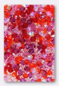 4mm Swarovski Crystal Bicone Beads 5328 ( Mix ) Roses d'Antibes x50