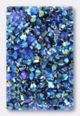 4mm Swarovski Crystal Bicone Beads 5328 ( Mix ) Bain de Minuit x50