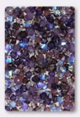 4mm Swarovski Crystal Bicone Beads 5328 ( Mix ) Nuits Pourpre x50