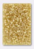 Miyuki Square Beads 1.8 mm SB0132FR Matt Transp Liht Topaz x10g