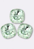 12mm Swarovski Crystal Cushion Cut Fancy Square Stone 4470 Chrysolite F x 1