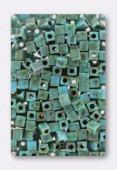 Miyuki Square Beads 4 mm Opaque Seafoam Green x20g