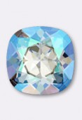 12mm Swarovski Crystal Cushion Cut Fancy Square Stone 4470  Light Sapphire Shimmer F x1