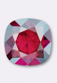 12mm Swarovski Crystal Cushion Cut Fancy Square Stone 4470  Light Siam Shimmer F x1