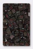 Miyuki Tila Beads TL4521 Picasso Opaque Red x10g