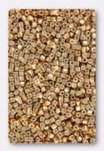 Miyuki Square Beads 1.8 mm SB1053 Galvanized Yellow Gold x10g