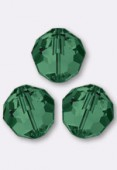 2mm Swarovski Crystal 5000 Round Beads Emerald x50