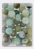 Amazonite Not Dyed Smooth Round Beads 8 mm x6