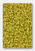 Delica Miyuki 11/0 DB2302 Matte Opaque Glazed Citron AB x10g