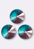 12mm Swarovski Crystal Rivoli Button 1122 Crystal Burgundy DeLite x1