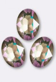 Cabochon 4120 14x10 mm crystal army green DeLite x1