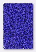 3mm Miyuki Bugle Opaque Cobalt x10g