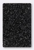 3mm Miyuki Bugle Black x10g