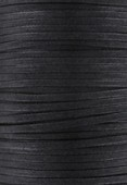Waxed Cotton 1.50x0.60 mm Black x 1m