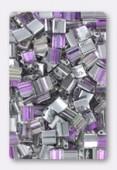 Miyuki Tila Beads TL-4574 crystal vitrail light x10g