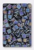 Miyuki Tila Beads TL-0401FR matted multi iris x10g