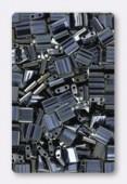 Miyuki Tila Beads TL-0464 light gunmetal x10g