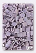 Miyuki Tila Beads TL-0410FR opaque mauve AB matted x10g