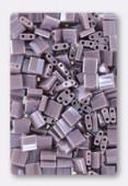 Miyuki Tila Beads TL-0437 opaque mauve luster x10g