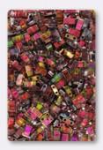 Miyuki Half Tila Beads HTL-4573 crystal magic wine x10g