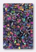 Miyuki Half Tila Beads HTL-4572 crystal magic blue x10g