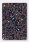 Miyuki Half Tila Beads HTL-2005 matted metallic copper x10g